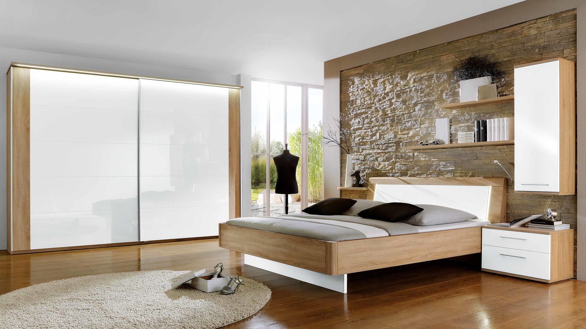 Modernes schlafzimmer weiß  Möbel Janz Schönkirchen | modernes PARTNERRING COLLECTION ...