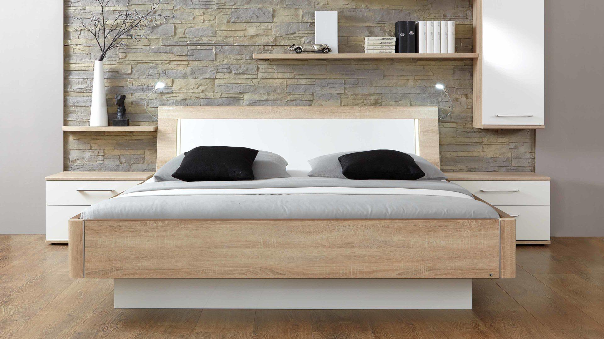 Schlafzimmer modern weiß holz  Möbel Janz Schönkirchen | modernes PARTNERRING COLLECTION ...