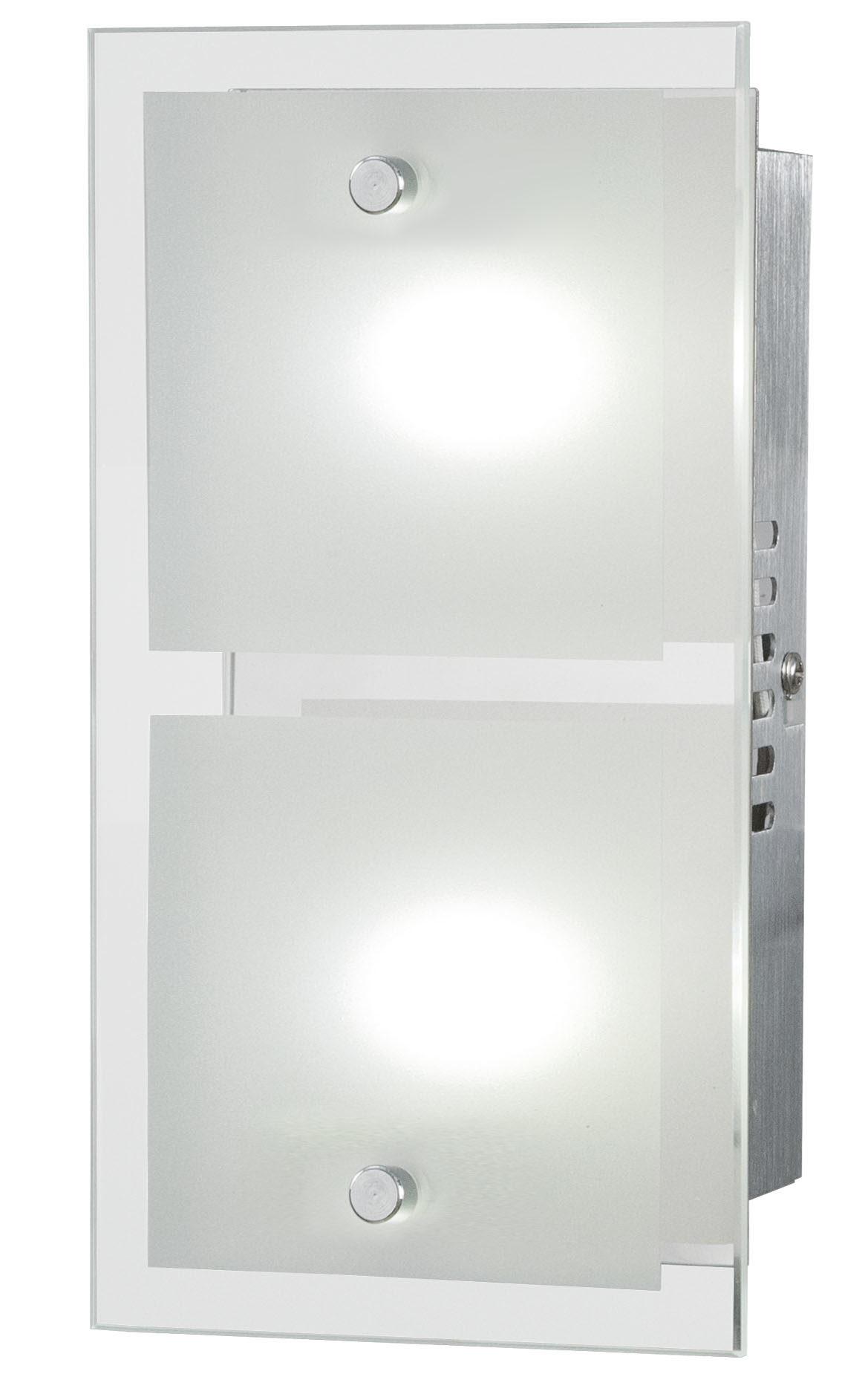 Raeume-Schlafzimmer-Lampen-und-Leuchten-Wandleuchte-Esto-aus-Glas-Metall-in-Weiss-ESTO-LED-Wand-und-Deckenleuchte-Kendo-Chrom-und-teilsatiniertes-Glas-zweiflammig-Breite-ca-25-cm-guenstiger Stilvolle Lampen In Der Wand Dekorationen