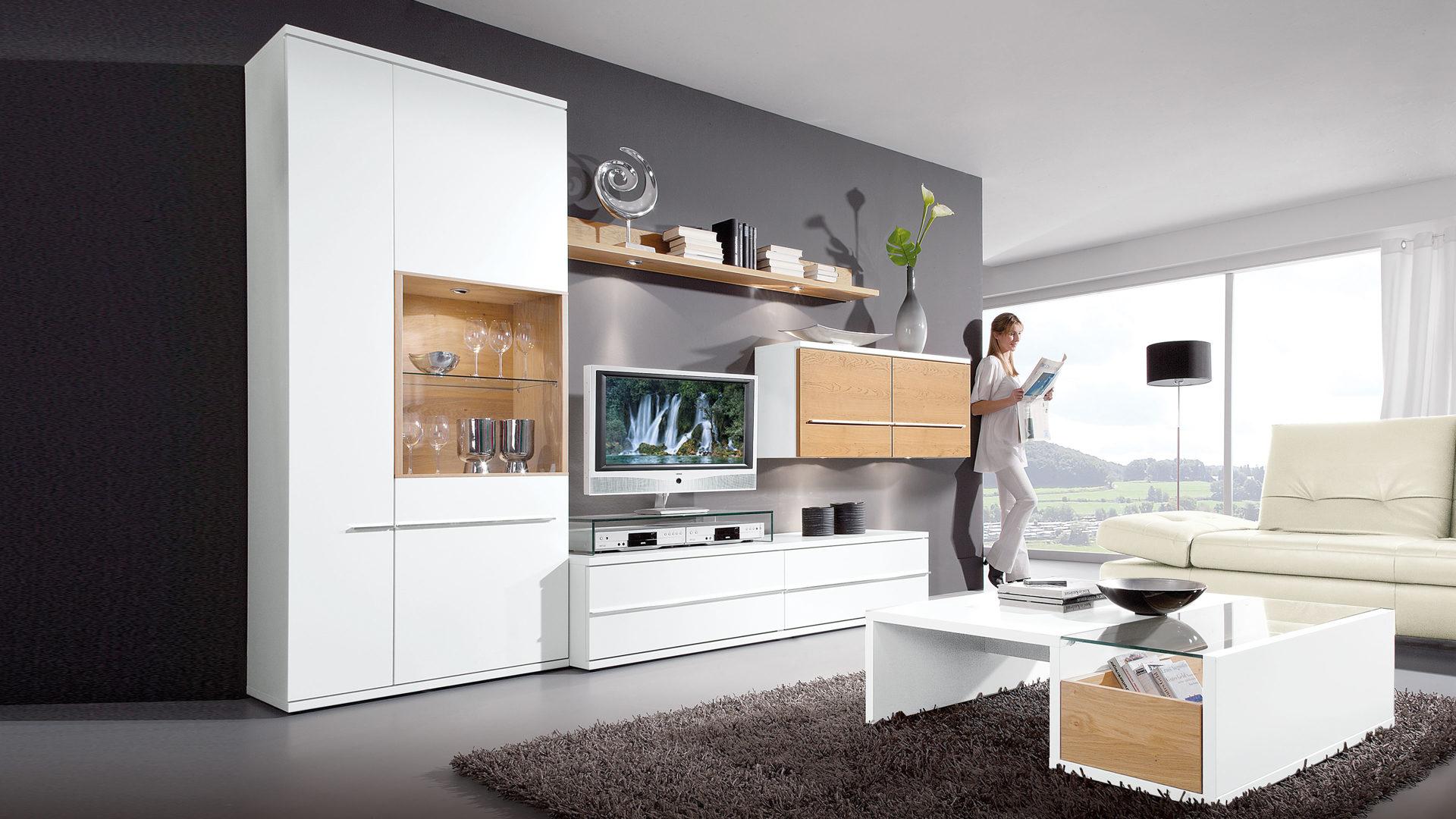 möbel janz schönkirchen | räume | wohnzimmer | schränke +